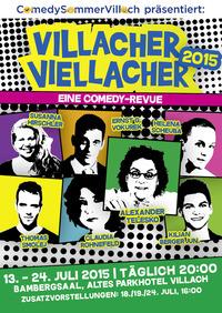 ComedySommerVillach - Villacher Viellacher@Bambergsaal, ehemaliges Parkhotel
