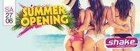 Summer Opening