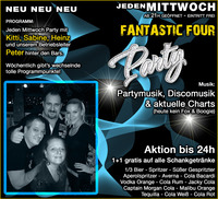 Fantastic Four Party@Mausefalle