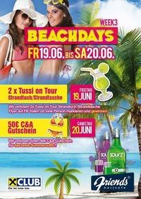 Beachdays Week 3@Friends Show-Cocktailbar