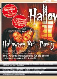 Halloween Kult Night@Vulcano