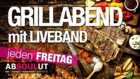 Grillabend mit Live Musik@Absoulut