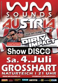 WM-Sounds Austria mit Dirty Impact@Naturteich Großhart