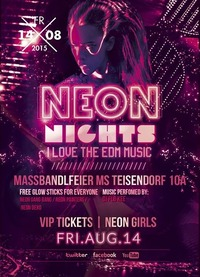 Neon Nights / We Love EDM - Massbandlfeier Ms Teisendorf 10a