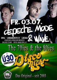 Depeche Mode & Wave! & DiscoNight!@Opal