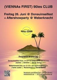 90ies Club @ DIF2015 & Aftershowparty im Weberknecht