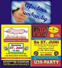 Spanferkel und Ü30-Party