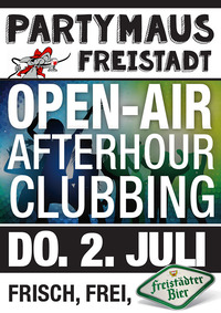 Open-air Afterhour-clubbing