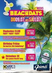 Beachdays Week 5@Friends Show-Cocktailbar