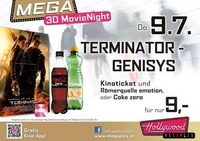 Mega 3D-MovieNight: Terminator Genisys