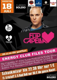 Flip Capella  Energy Club Files Tour