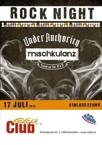 Rock Night - live under Authority & Mischkulanz