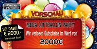 Mega Luftballon Party