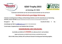 Rossini Golf Trophy 2015