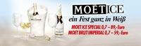 Moét Ice - ein Fest ganz in Weiss