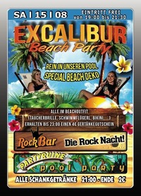 Excalibur Beach Party