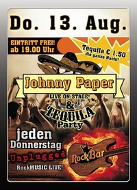 Johnny Paper Live