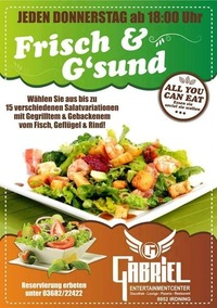 Frisch & Gsund  @Gabriel Entertainment Center