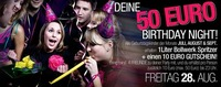 Deine 50 Birthday Night