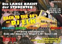 Back to the 60's@Bricks - lazy dancebar