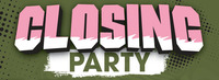 Closing Party wir sagen Danke