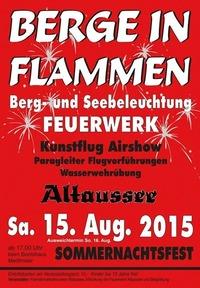 Berge in Flammen@Loser Bergbahnen Altaussee
