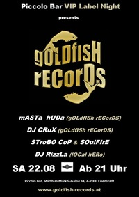 Goldfish records label night@Piccolo Bar