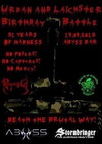 Urban und Laichster Birthday Battle