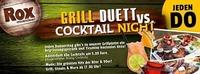 Grill Duett vs. Cocktail Night
