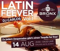 Latin Feever Vol. 1 with Dj Carlos