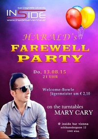 Harald´s Farewell Party