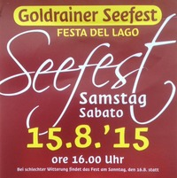 Seefest Goldrain@Goldrain Im Vinschgau