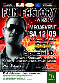 Fun Factory@Tanzpalast