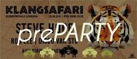 Official Klangsafari preparty