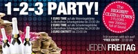1 - 2 - 3 Party@Bollwerk