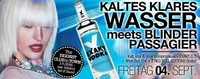 1-2-3 Party - Kaltes Klares Wasser meets Blinder Passagier