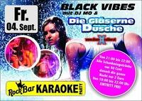 Black Vibes & Die gläserne Dusche