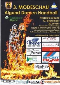 3. Modenschau der Algunder Handballerinnen@Festplatz Algund