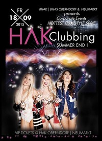 HAK Clubbing - Summer End@Johnnys - The Castle of Emotions