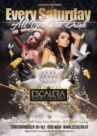 ALL YOU CAN DRINK@Escalera Club