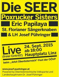 Jetzt Oberösterreich Fest der ÖVP@Hauptplatz Linz
