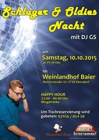 Schlager & Oldies Nacht im Weinlandhof Baier@Weinlandhof Baier