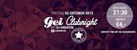 GEI Clubnight mit DJ Snowtek