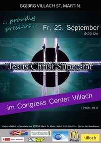 Jesus Christ Superstar - Musical@Congress Center Villach (Josef-Resch-Saal)
