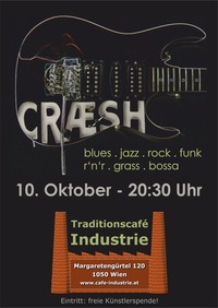 CRÆSH @ Industrie@Cafe Industrie