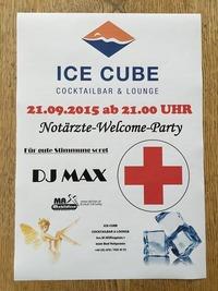 Notärzte-Welcome-Party