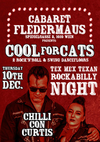 COOL FOR CATS - CHILLI CON CURTIS (live)@Cabaret Fledermaus
