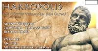 HAKropolis - Die Götter verlassen den Olymp@Arena Kufstein