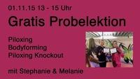 GRATIS Probelektion Piloxing®, Knockout und Bodyforming mit Melanie und Stephanie@House of Dance