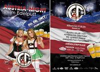 AUSTRIA NIGHT im EDELPUFF@Exzess! Gentlemen-Club Vienna